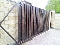 Ворота откатные, калитки, фото 1