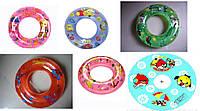 Надувной круг для ребенка Мультфильмы 60см BT-IG-0009 (TS-1239-60), плавательный круг 6 видов в ассортименте