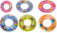 Детский надувной круг Мультфильмы 70см BT-IG-0010 (TS-1239-70), плавательный круг 6 видов в ассортименте