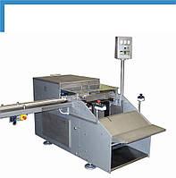 Полуавтоматическое оборудование для упаковки брикетов в картонные коробки