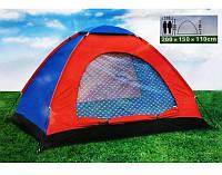 Палатка туристическая 2-х местная SY-004, палатка двухместная, летняя палатка, летняя туристическая палатка