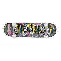 Скейтборд для детей и подростков Skateboard 62, скейт для начинающих, доска скейт, скейтборд для детей