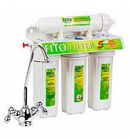 Фильтр для воды 5 ступеней очистки Fito Filter FF-5, фильтр водоочиститель, фильтр для очистки воды под мойку