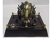 Зажигалка + пепельница ZK7-44, зажигалка настольная с пепельницей Амфора, оригинальная сувенирная пепельница