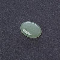 Кабошон Нефрит нат камень 1,3х1,8см (+-)