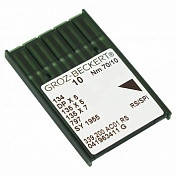 Голка Groz-Beckert 134, DPx5, 135x5 RS (SPI) з товстої колбою в упаковці 10 шт