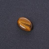 Кабошон Тигровый глаз нат камень 1,3х1,8см (+-)
