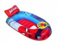 """Детская надувная лодка Intex """"Человек паук"""" 98009"""