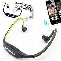 Наушники Sport S9 MP3, беспроводные наушники для спорта, спортивные наушники с mp3