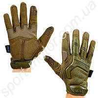 Перчатки тактические с закрытыми пальцами MECHANIX MPACT