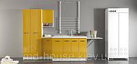 Комплект мебели в ванную комнату Желтый