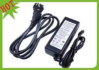 Адаптер 12V 4A (пластик + кабель), зарядное устройство 12v 4a, блок питания 12v 4a
