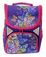 Набор ранец ортопедический JO-1705 пенал JO-17053 сумка для обуви пенал мягкий  + сумка с ручками в Подарок