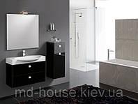 Комплект мебели в ванную комнату Черный