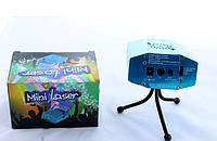 Лазерная установка для дискотек LASER 6in1, световой лазерный проектор