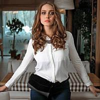 """Сумка """"Элис"""" Графит Велюр"""