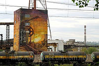 Монументальная живопись на стенах домов