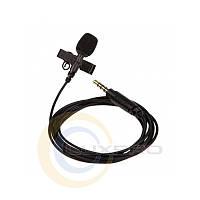 Петличный микрофон с разъемом 3.5 CTP-10DX-TE, микрофон конденсаторный проводной