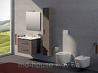 Комплект мебели в ванную комнату с пеналом