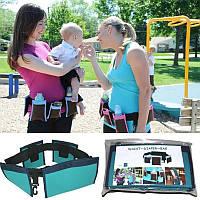 Пояс с карманами для мам Waist Diaper Bag, сумка-пояс с карманами Вейст Диапер Бег