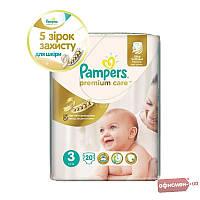 Подгузники Pampers Premium Care Размер 3 (Midi) 5-9 кг, 20 шт (4015400687818)