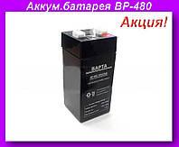 Аккумулятор для весов BP-480 4V4.5AH,Аккумуляторная батарея BP-480!Акция