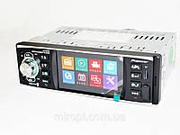 Автомагнитола Pioneer 4019CRB, автомобильная видеомагнитола (AVI, Bluetooth, USB, AUX, FM)