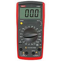 Мультиметр UNI-T UT601 (емкость и сопротивление), цифровой мультиметр