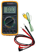 Мультиметр универсальный DT9208A, цифровой тестер мультиметр