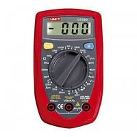 Мультиметр универсальный UNI-T UT33D, цифровой тестер мультиметр