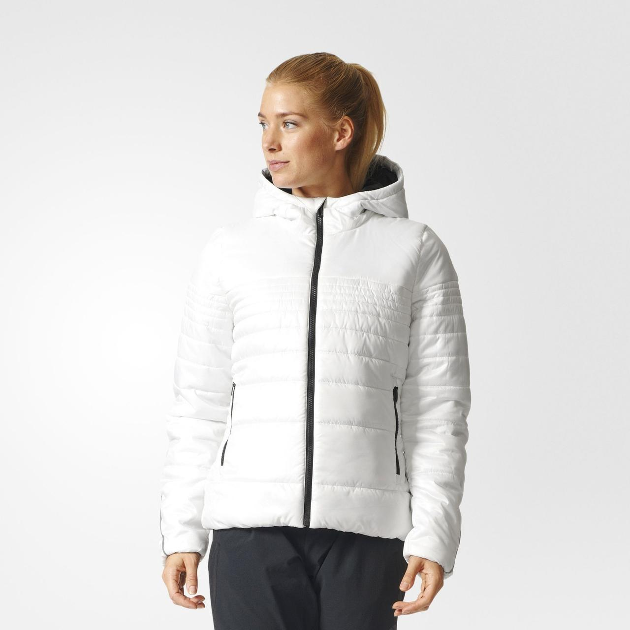 Женская куртка Adidas Performance Padded Jacket (Артикул  BP9431) - Адидас  официальный интернет - 0f0338fcfb6