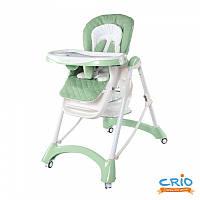 Стульчик для кормления малыша CARRELLO Caramel CRL-9501 GREEN