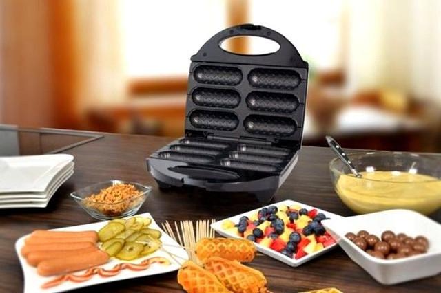 Прибор для приготовления Корн Догов Dong Can 6 сосисок, вафельница сосисочница -  интернет-магазин «PRIME FOX» в Киеве