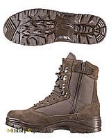 Ботинки тактические (1 молния, Braun)