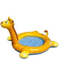 Детский надувной бассейн Жираф