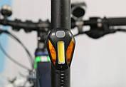 Задний светодиодный аккумуляторный фонарь для велосипеда RPL-2267, фото 2