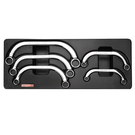Набор ключей накидных С-образных GAAT0504 TOPTUL