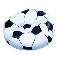 Надувное кресло-футбольный мяч, 114х12х71см (75010)