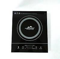 Плита индукционная настольная/врезная MONTE MT 2103 (2000 Вт, сенсорное управление), фото 1