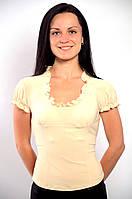 Блузка белая в баварском стиле ,Бл 230349