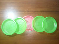 Тарелка мелкая цветная 165 мм