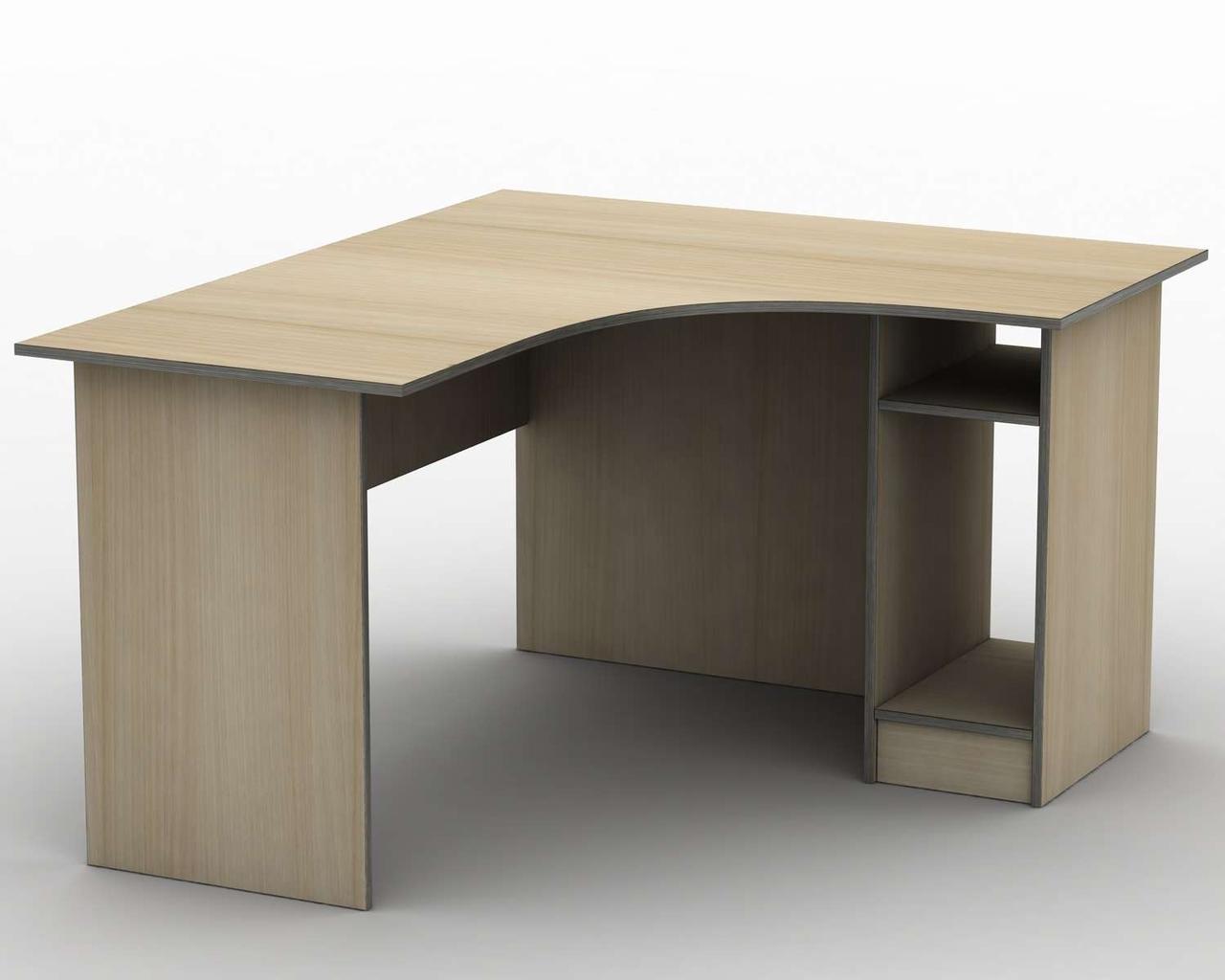 Комп'ютерний стіл Бюджет СПУ-2\2 (1400*1200) Тіса меблі
