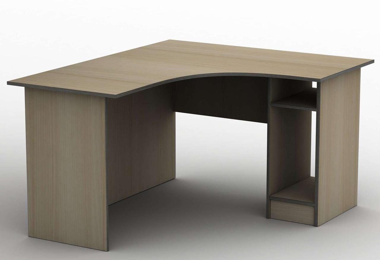 Комп'ютерний стіл Бюджет СПУ-2\3 (1600*1200) Тіса меблі