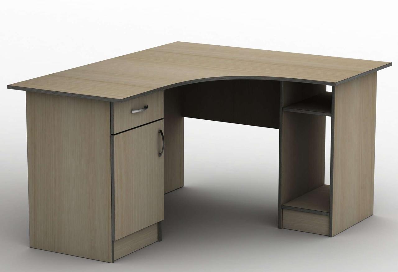 Комп'ютерний стіл Бюджет СПУ-5 (1200*1200) Тіса меблі