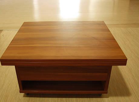 Стол-трансформер журнально обеденный книжка, фото 2