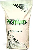 Добрива Premium foliar 15-5-30 + 2MgO + МЕ, мішок 25кг