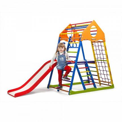 Дитячий спортивний комплекс для будинку KindWood Color Plus 2 (ТМ SportBaby), фото 2