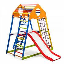 Дитячий спортивний комплекс для будинку KindWood Color Plus 2 (ТМ SportBaby), фото 3