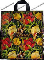 """Пакет петля """"Цветы"""" (40*44)"""