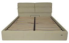 Ліжко Единбург Стандарт Бонус Крем, 90х190 (Richman ТМ), фото 2